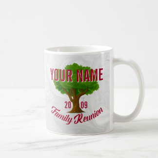 Lebhafter Baum-personalisiertes Kaffeetasse