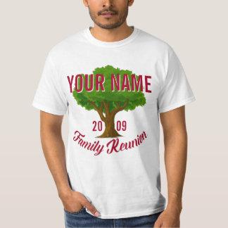 Lebhafter Baum-personalisiertes T-Shirt