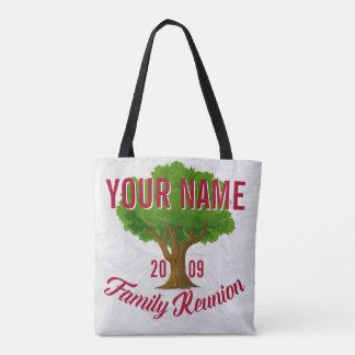 Lebhafter Baum-personalisiertes Tasche