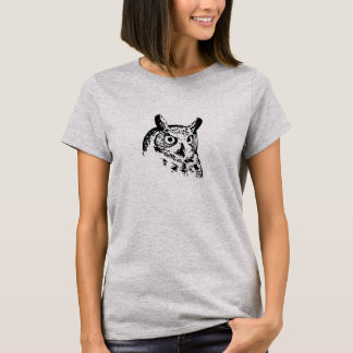 Lebhafter Eulen-T - Shirt