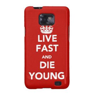 Lebhaftschnelle und sterben junger Kasten Samsung- Galaxy S2 Hülle