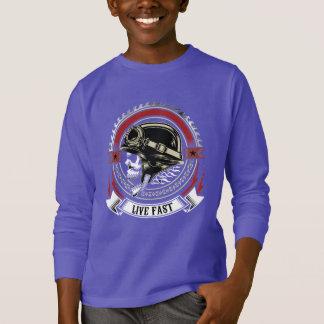 Lebhaftschnelles T-Shirt
