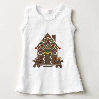 Lebkuchen-Haus-Feiertags-T - Shirt