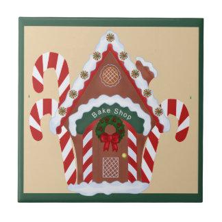 Lebkuchen-Haus Keramikfliese