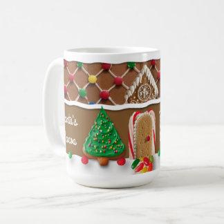 Lebkuchen-Haus-WeihnachtsTasse Kaffeetasse