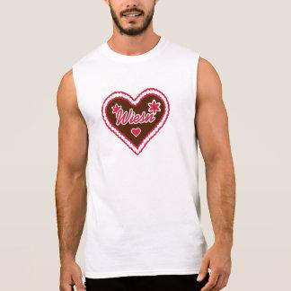 Lebkuchen Herz Wiesn Ärmelloses Shirt