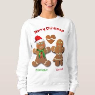 Lebkuchen-Junge und Sweatshirt