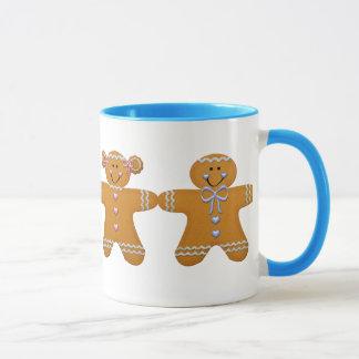 Lebkuchen-Mädchen u. Jungen-Tasse Tasse