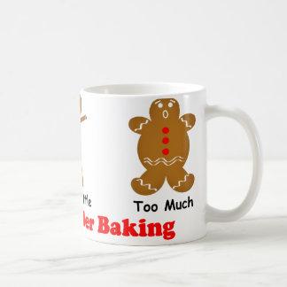 Lebkuchen-Mann die Magie des Backpulvers Kaffeetasse