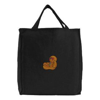 Lebkuchen-Mann-gestickte Tasche