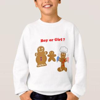 Lebkuchen-Mann-Junge oder Mädchen Sweatshirt