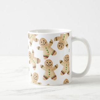 Lebkuchen-Mann-Kaffee-Tasse - Kaffeetasse