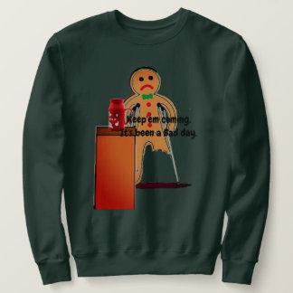 Lebkuchen-Mann-Schlecht-Tag Sweatshirt