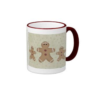 Lebkuchen-Mann-Tasse Ringer Tasse