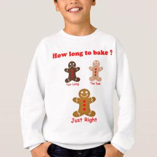 Lebkuchen-Mann, wie lang man für backt Sweatshirt