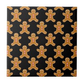 Lebkuchen-Männer Keramikfliese