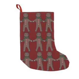 Lebkuchen-Männer Kleine Weihnachtsstrümpfe