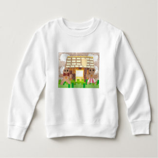 Lebkuchen-Paar-Kleinkind-Pullover Sweatshirt