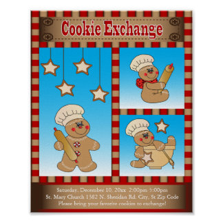 Gingerbread Cookie Exchange Gathering