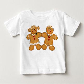 Lebkuchen-Spaß-Paare Baby T-shirt
