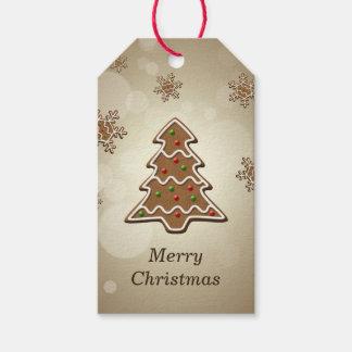 Lebkuchen-Weihnachtsbaum - Geschenk-Umbau Geschenkanhänger