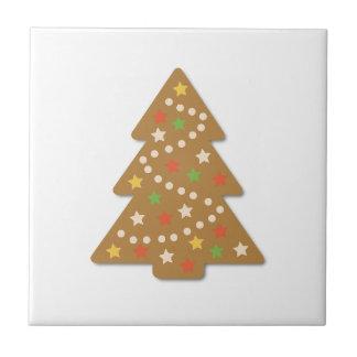 Lebkuchen-Weihnachtsbaum Keramikfliese