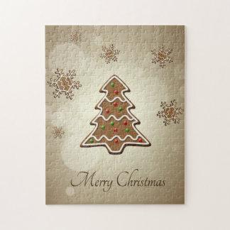 Lebkuchen-Weihnachtsbaum - Puzzlespiel Puzzle