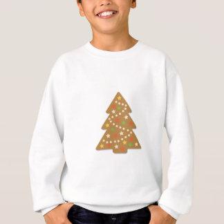 Lebkuchen-Weihnachtsbaum Sweatshirt