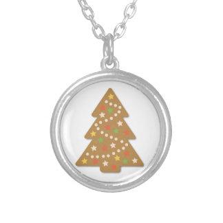 Lebkuchen-Weihnachtsbaum Versilberte Kette