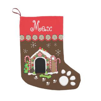 Lebkuchenhundehaus Kleiner Weihnachtsstrumpf