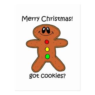 Lebkuchenmann Weihnachten Postkarten