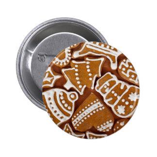 Lebkuchenplätzchen Runder Button 5,7 Cm