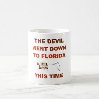 Lebron James Teufel ging unten zu Florida-Schale Kaffeetasse