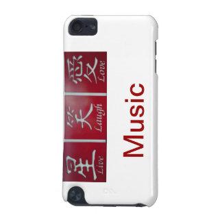 Lebt Lachen-Liebe-Musik iPod Touch 5G Hülle