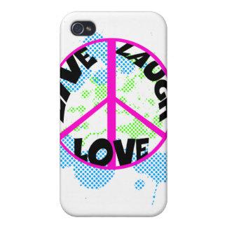 lebt Lachen love2 iPhone 4 Schutzhülle