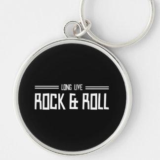 Lebt lang Rock u. rollt Schlüsselanhänger