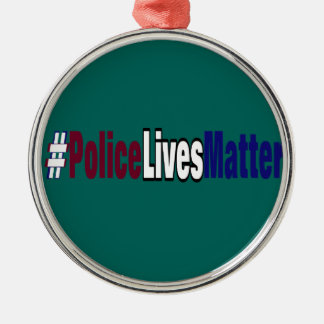 # lebt Polizei Angelegenheit Silbernes Ornament