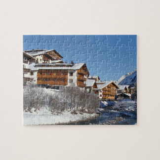 Lech in Österreich - Puzzlespiel Puzzle