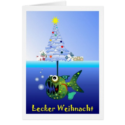 Lecker Weihnacht Grußkarten