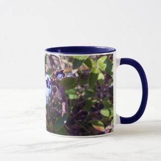 Leckere Blaubeeren Tasse