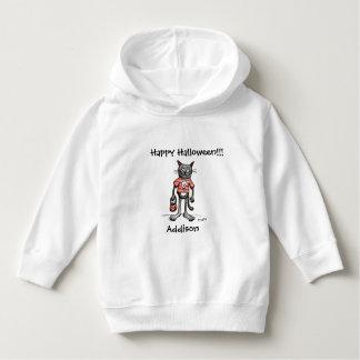 Leckerei-schwarze Katzen-Kleinkind-Pullover Hoodie