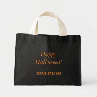 Leckerei-Taschen-Tasche Halloweens | Mini Stoffbeutel