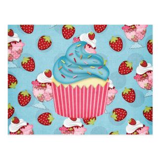 leckerer kleiner Kuchen Postkarten