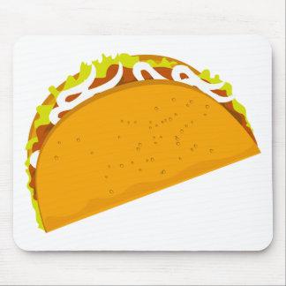 Leckerer Taco Mousepad