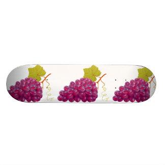 Leckeres Bündel rote Trauben 20,6 Cm Skateboard Deck
