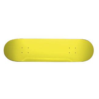 Leckeres Lilien-Gelb-Normallack Skate Board