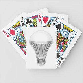 LED-Birne Bicycle Spielkarten