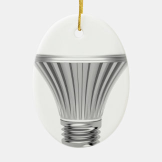 LED-Birne Ovales Keramik Ornament