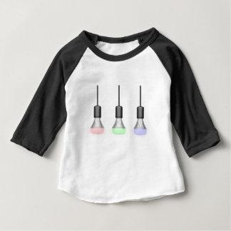 LED-Birnen mit verschiedenen Farben Baby T-shirt