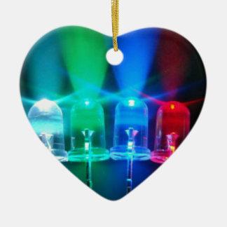 LED-Lichter Keramik Ornament